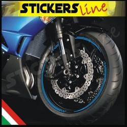 adesivi cerchi strisce ruote adesivi moto SPORT RACING
