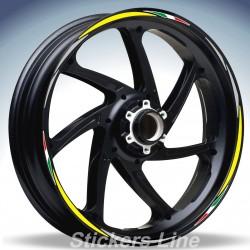 Adesivi ruote moto strisce cerchi per BMW F800 GT stickers wheel F800GT Racing 4