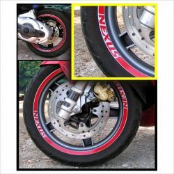 adesivi ruote GILERA GP 800 839 CORSA GP 839 stripes