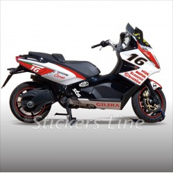 adesivi carena GILERA GP800 kit adesivi GILERA GP 800 stickers gilera RACING 2