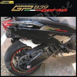adesivi carena laterale GILERA GP 800 839 CORSA GP 839
