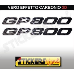 Adesivi GP 800 carbonio 3D stickers GILERA GP800 carbon