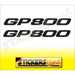 adesivi moto GP 800 coppia di adesivi per Gilera gp800