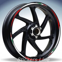 Adesivi ruote moto NC 750 X strisce cerchi Honda NC750X Racing3 wheel NC750 X
