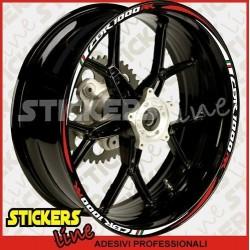 adesivi HONDA CBR 1000 RR strisce CBR RACING stripes