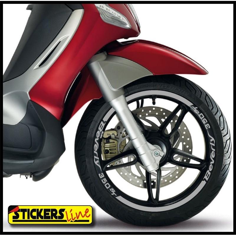 adesivi ruote moto strisce cerchi piaggio beverly 350 st. Black Bedroom Furniture Sets. Home Design Ideas