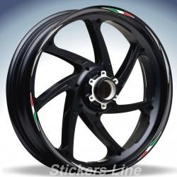Adesivi ruote moto strisce cerchi SUZUKI GSX 1250 FA Racing 4 sitckers wheel