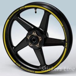 adesivi ruote TRIUMPH DAYTONA strisce cerchi TRIUMPH