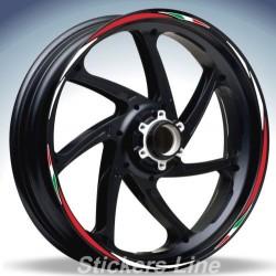 Adesivi ruote moto strisce cerchi YAMAHA MT-07 Racing4 sitckers wheel MT 07