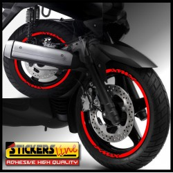 adesivi moto YAMAHA XJ6 strisce ruote YAMAHA XJ6