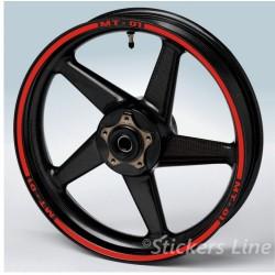 Strisce FLUORESCENTI per Honda Suzuki Yamaha Ducati etc