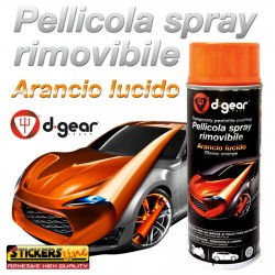 Vernice removibile ANTRACITE METAL 400ml Pellicola spray wrapping auto moto