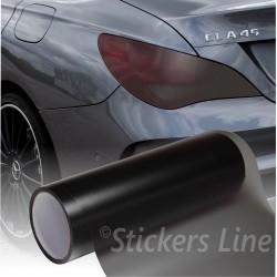 Pellicola adesiva colorata oscurante per fari fanali auto moto ecc FUME' 30x50