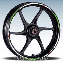 Adesivi ruote moto strisce cerchi per KAWASAKI Z800 Racing3 Z800 stickers wheel