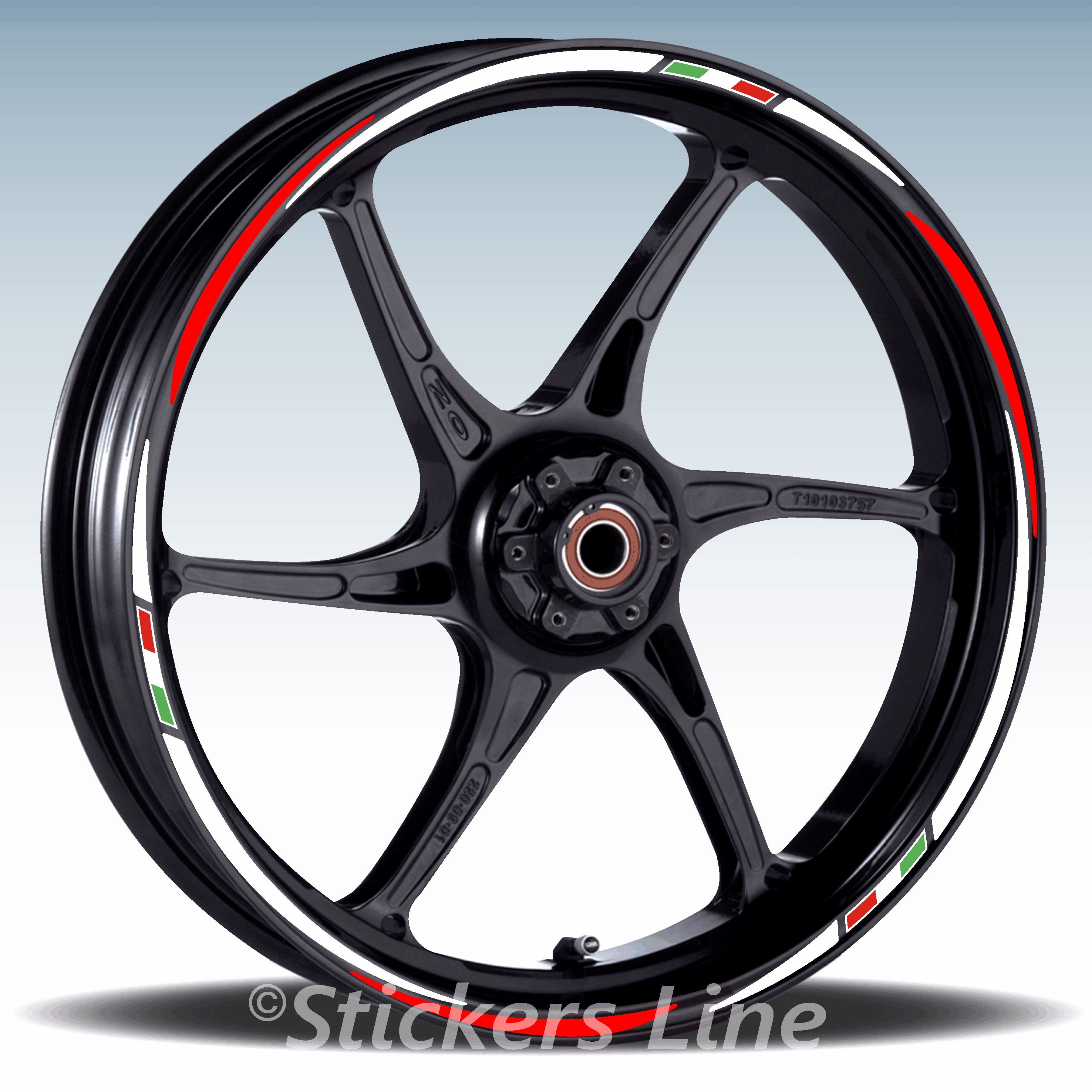Adesivi Cerchi Kit ruote modello racing YAMAHA FZ8