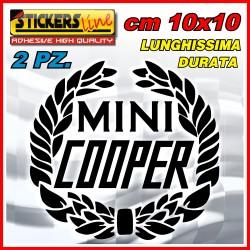 2 loghi adesivi mini cooper hold style adesivi mini epoca stisckers mini cooper