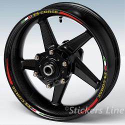 Adesivi moto AGUSTA F4 RACING 2 - strisce cerchi wheel