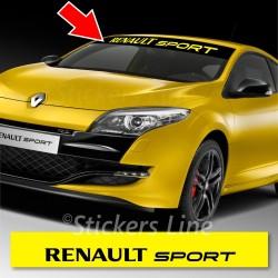 Adesivo fascia parasole RENAULT SPORT Twingo Clio Megane renault sport adesivi