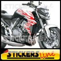 adesivi moto Fiamme adesive per moto 1 flame stickers