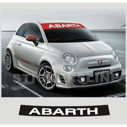 adesivi FIAT 500 FASCIA PARASOLE ABARTH stickers 500