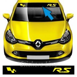 Adesivo FASCIA PARASOLE Renault RS Twingo Clio Megane renault sport adesivi
