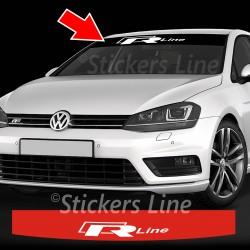 Adesivo fascia parasole Volkswagen Golf RLine R-Line - Polo - Passat - Scirocco