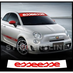 adesivo FIAT 500 FASCIA PARASOLE ESSEESSE stickers adesivi fiat 500 abarth