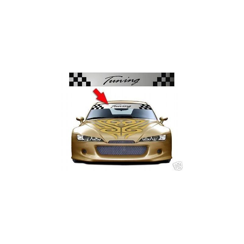 Adesivi FASCIA PARASOLE per auto tuning Mod.AlfaRomeo
