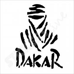 adesivo DAKAR adesivi DAKAR stickers DAKAR cm 35