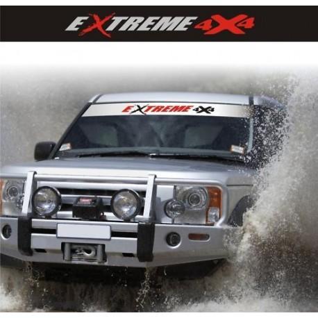 Fascia Parasole Extreme 4x4 Adesivi Per Fuoristrada Off Road Adesivo