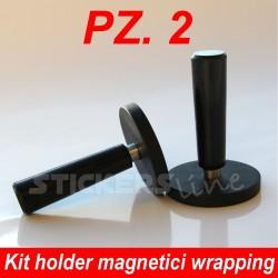 Coppia di magneti pellicole car wrapping accessori calamite posizionare adesivi