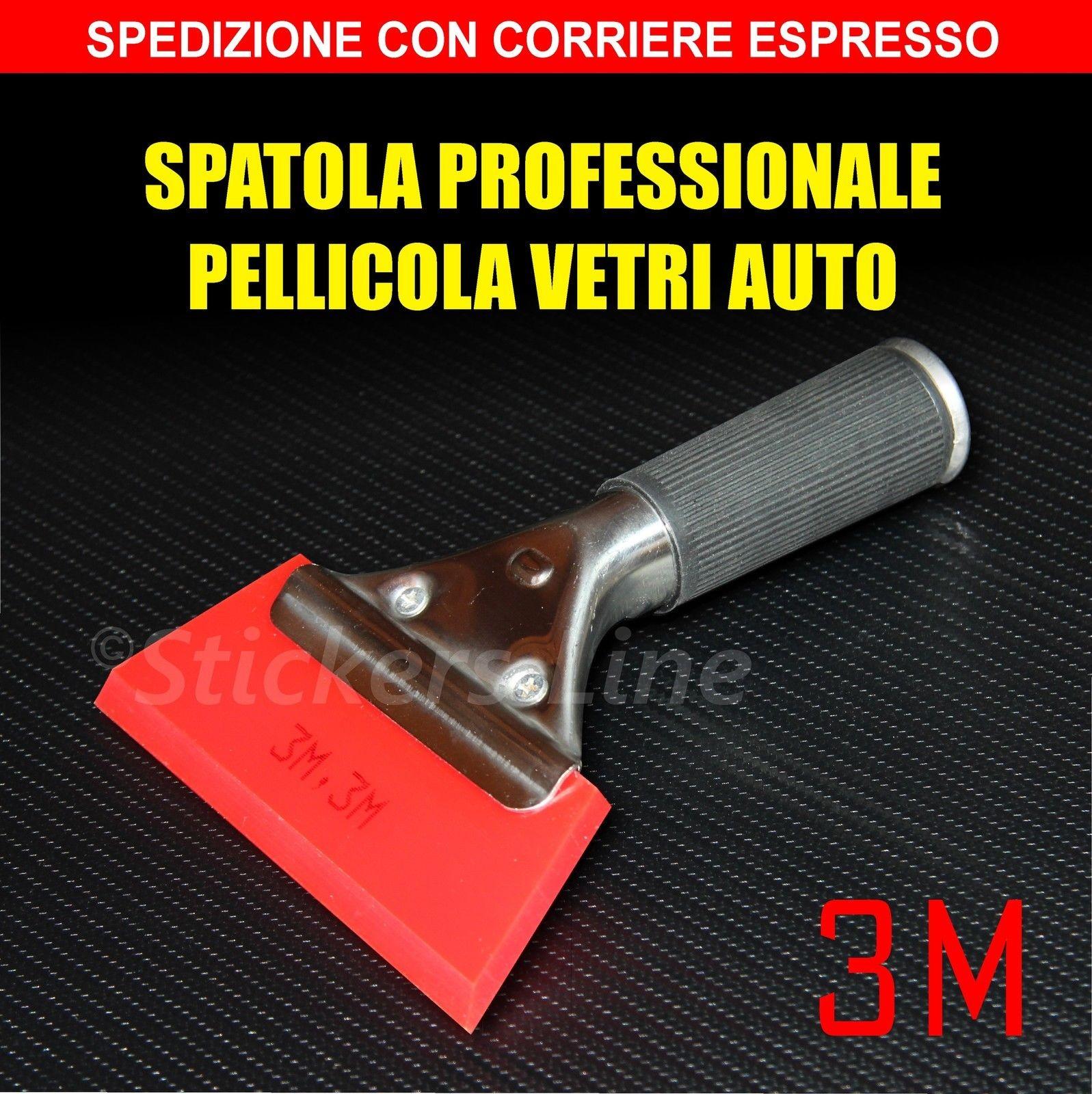 Spatola Pellicola Oscurante Vetri Auto 3m Installare Pellicole
