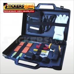 Valigetta kit accessori wrapping APA spatola cutter calamite magnetici pellicola