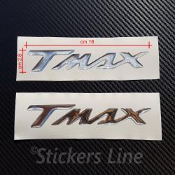 2 scritte Tmax resinate CROMATE scritta tmax resinata t max 500 530 in rilievo