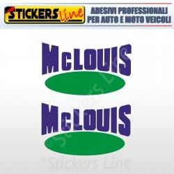 2 Adesivi per camper MC LOUIS adesivo scritte adesive mclouis caravan