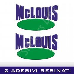 2 Adesivi RESINATI per camper MCLOUIS adesivo mc louis scritte adesive caravan