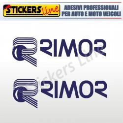 2 Adesivi per camper RIMOR adesivo scritte adesive caravan monocolore