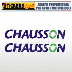 2 Adesivi per camper CHAUSSON adesivo decalcomanie scritte adesive caravan
