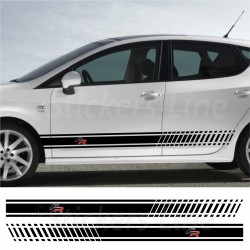 Fasce adesive FR Seat Ibiza Leon Altea strisce fiancate adesivi laterali cupra