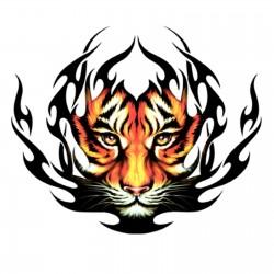 Adesivo Tigre Tribale adesivo cofano auto