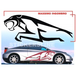 Adesivi auto tuning stickers decalcomanie PUMA