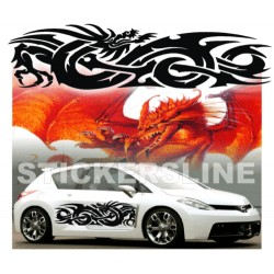Adesivi DRAGO adesivi auto tuning car stickers DRAGO 3