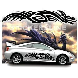 Adesivi DRAGO adesivi auto tuning car stickers DRAGO 5