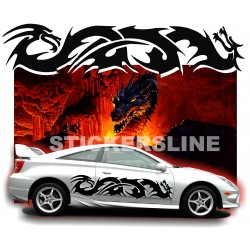 Adesivi DRAGO adesivi auto tuning car stickers DRAGO 7