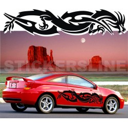 Adesivi auto tuning DRAGO 8 decalcomanie car stickers
