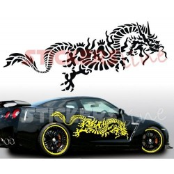 Adesivi auto tuning DRAGO 9 car stickers pegatinas