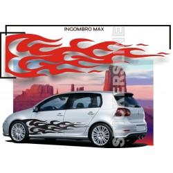 Fiamme adesive Adesivi fiamme auto tuning Fiamma 2 FIANCATE car stickers decals