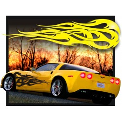 Adesivi auto tuning decalcomanie car stickers Fiamma 3