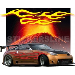 Adesivi auto tuning decalcomanie car stickers Fiamma 6