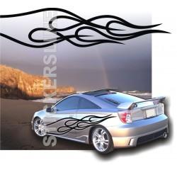 Fiamme adesive Adesivi fiamme auto tuning Fiamma 7 FIANCATE car stickers decals